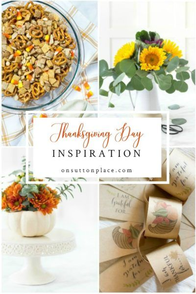 Thanksgiving Day Ideas, Recipes & Tips for the Perfect Turkey #thanksgivingtablesettingideas