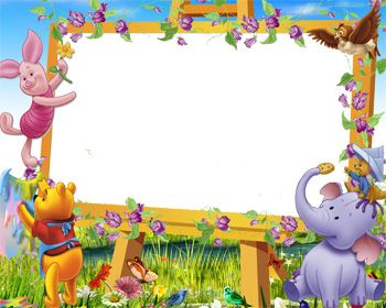 explore school frame disney crafts and more - Winnie The Pooh Picture Frame