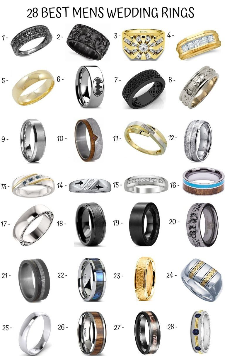 The Ultimate Guide to Men's Wedding Rings  Wedding and Bridal Inspiration is part of Wedding ring groom -