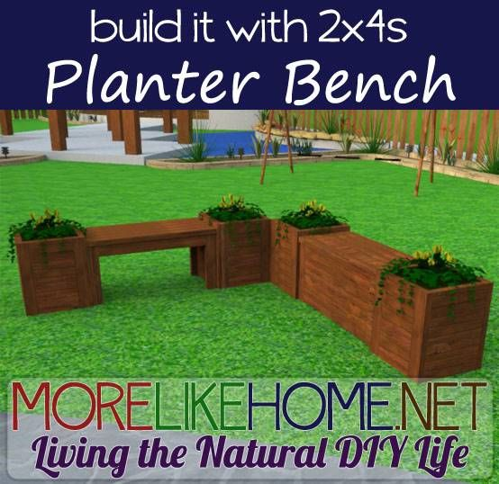 Day 16 - Build A Bench And Planters