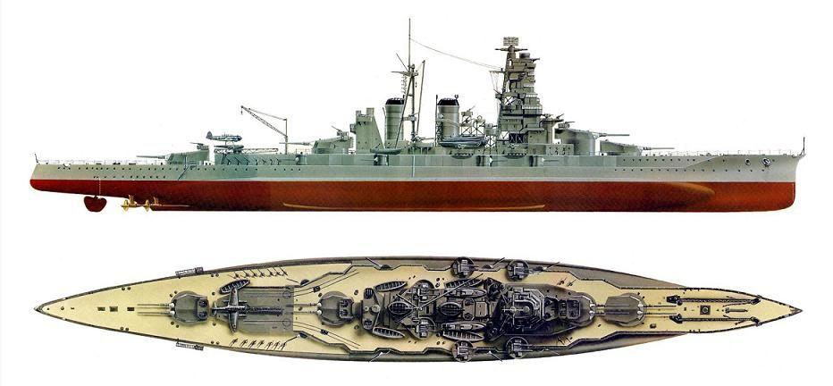 Los acorazados clase yamato todo sobre la segunda guerra mundial buques pinterest guerra - Todo sobre barcos ...