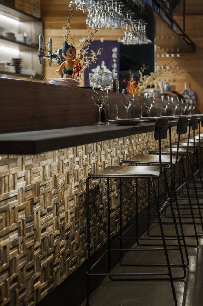 Japanese Restaurant Mr Miyagi | Eades  Bergman #bar #restaurant #contemporary
