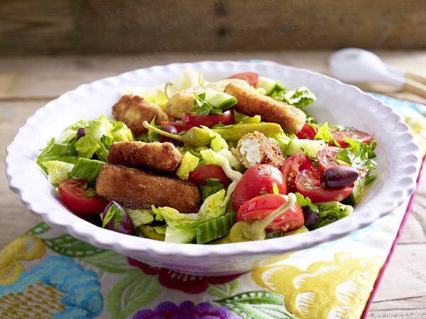 Leckere Salate zum Sattessen - bauernsalat-feta  Rezept