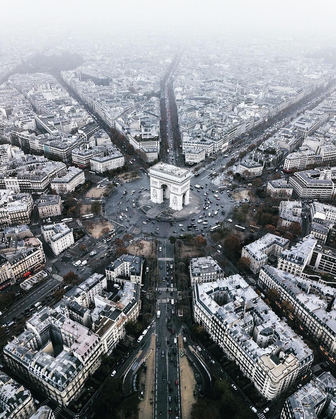 Paris P Ris Thisisparis On Instagram The Arc De Triomphe