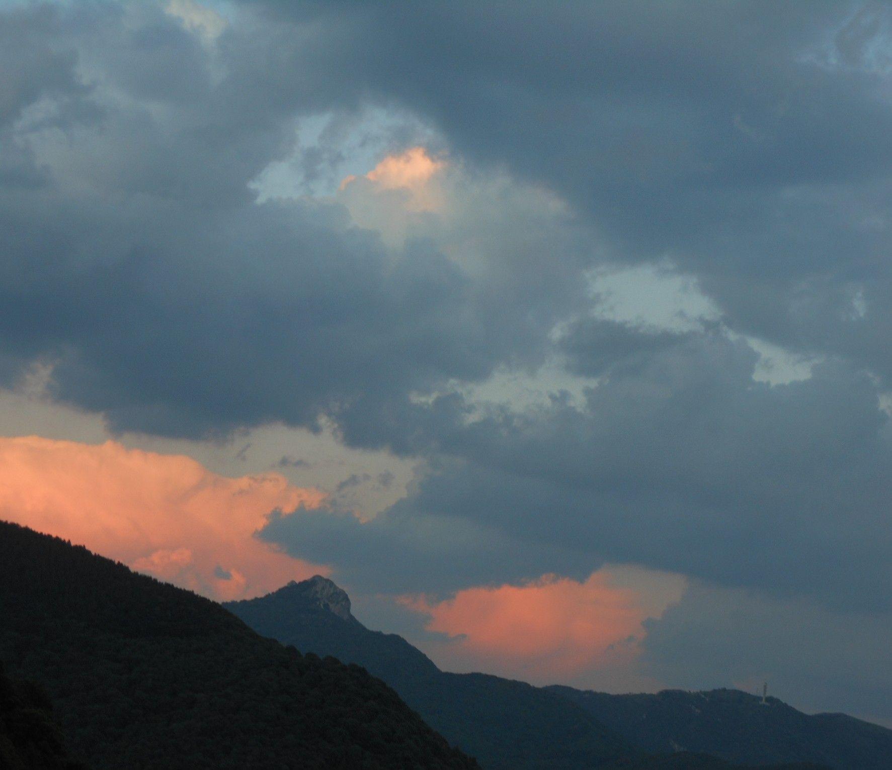 nuvole del tramonto Tramonti, Paesaggi, Nuvole