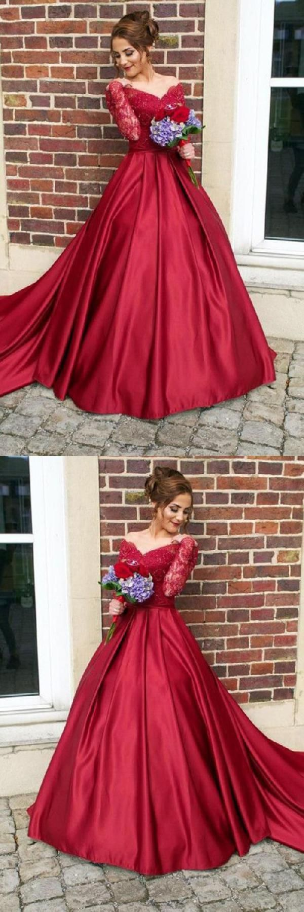 Admirable long prom dresses prom dresses with sleeves burgundy