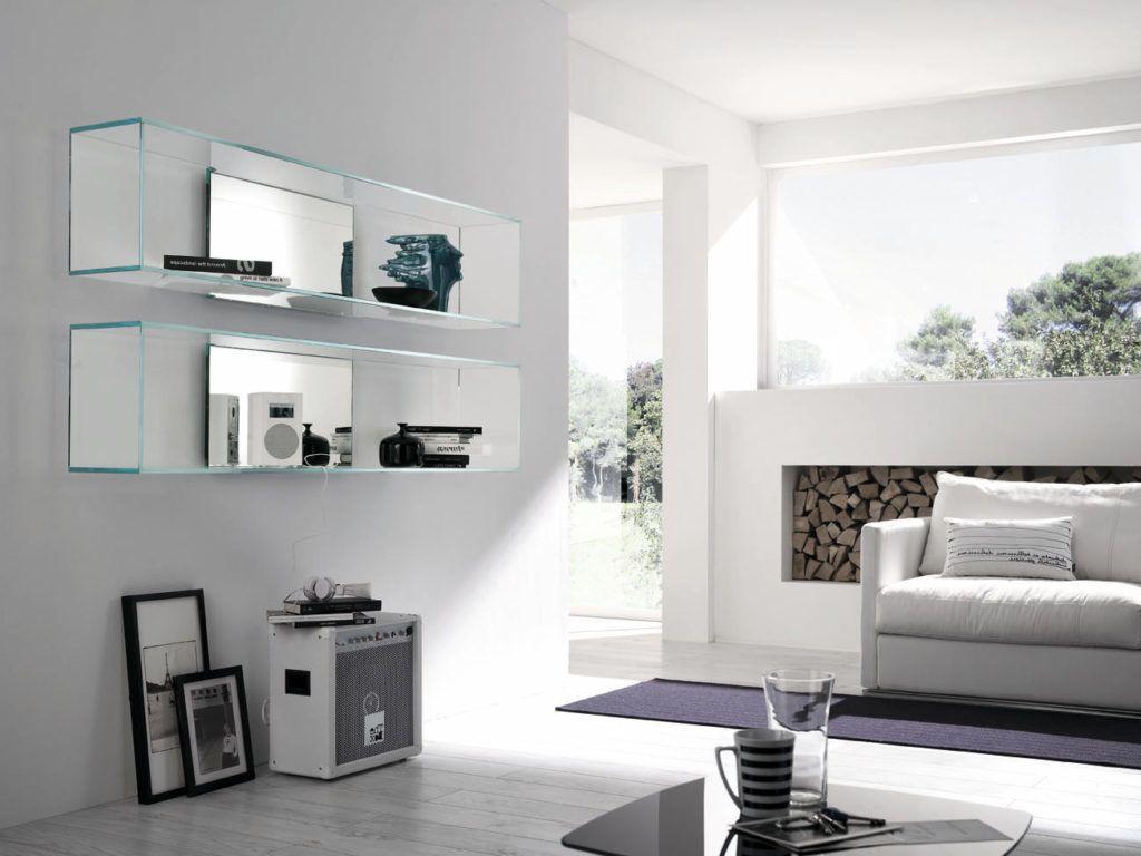39 Ideen für Glasregale für jede Zimmergestaltung | innendesign