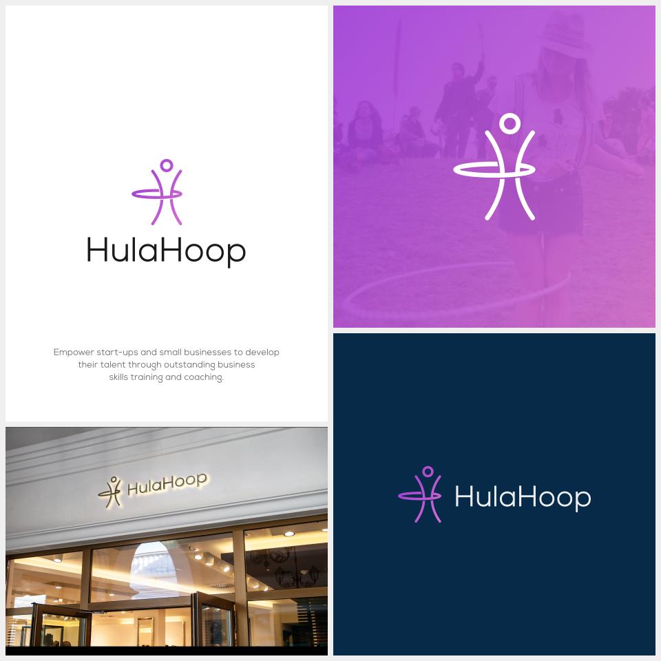 Design 43 By Pudica Design A Modern Bright Fun Logo For Hula Hoop Dance Logo Hula Hoop Logo Design