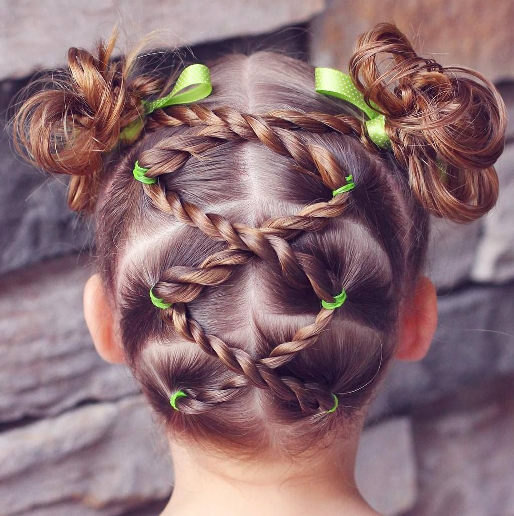 Nice stunning little girls hairstyles creative styles for