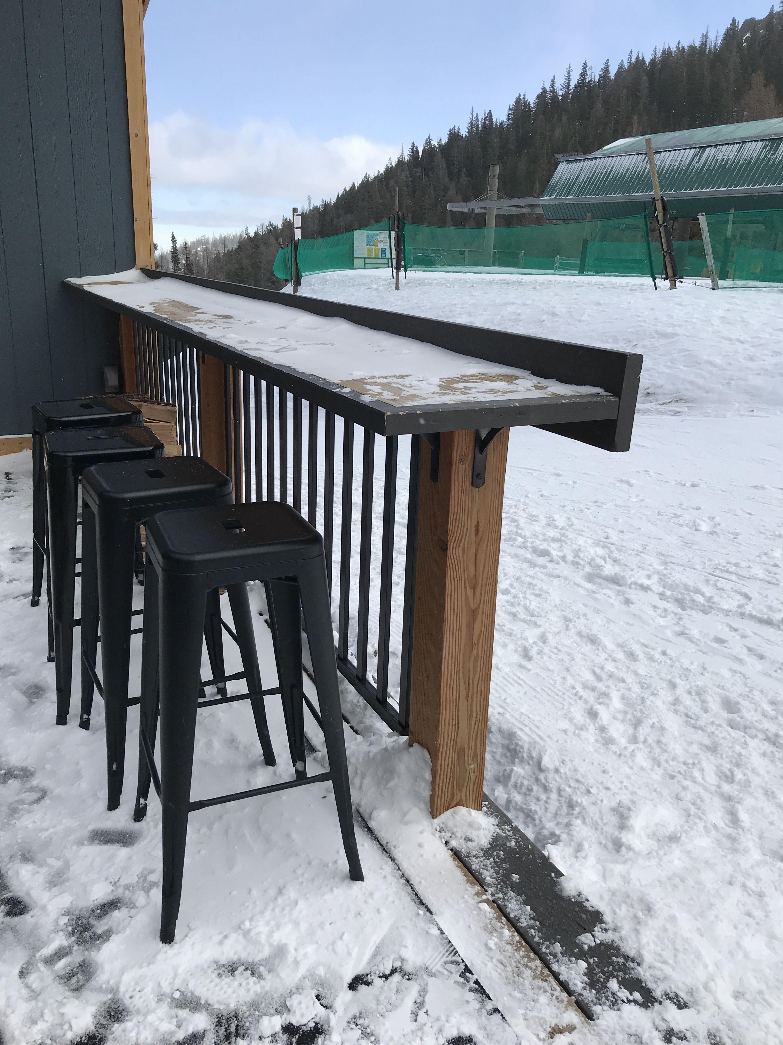 Deck rail as bar top in 2020 | Patio railing, Deck bar ...