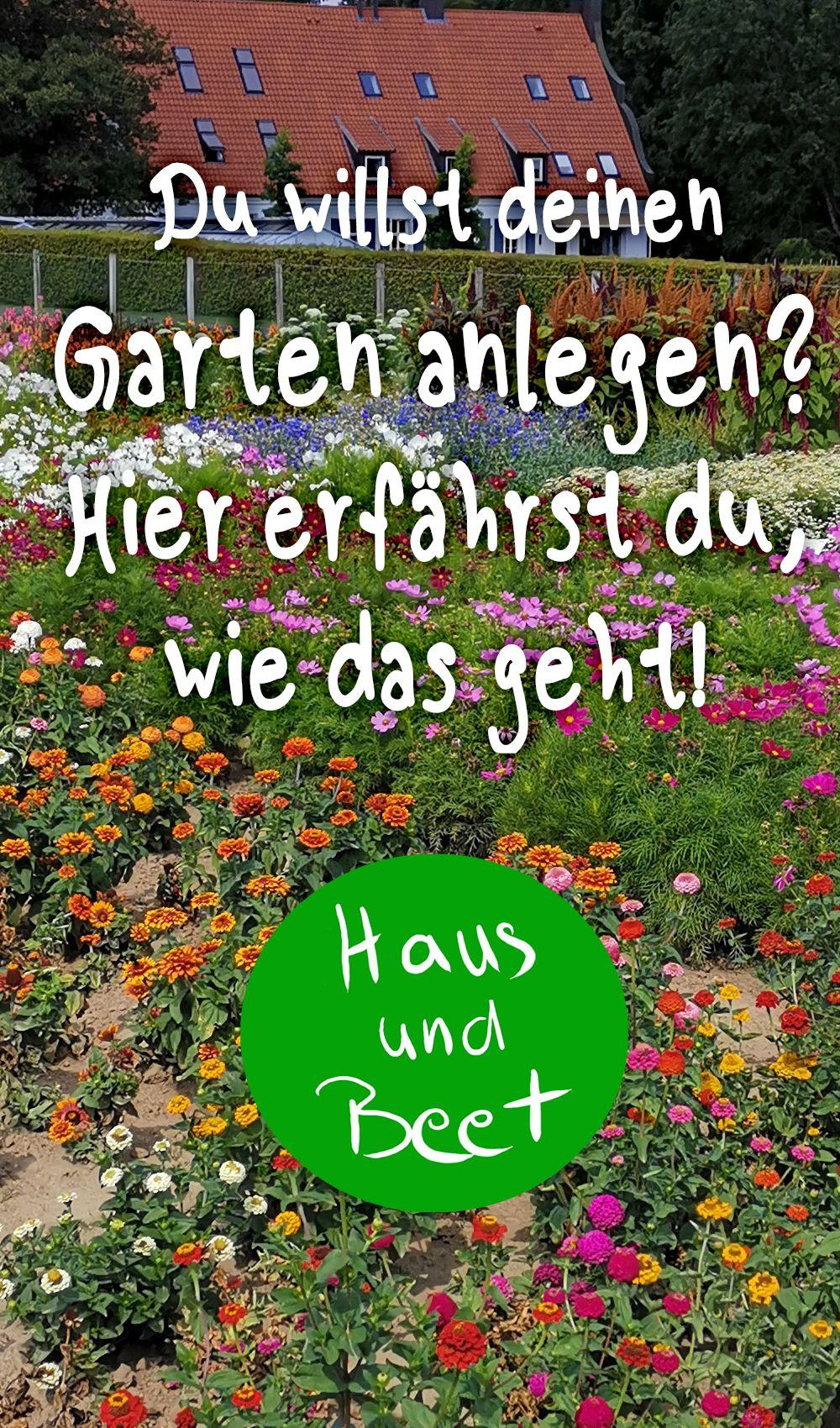 Garten anlegen - Haus und Beet