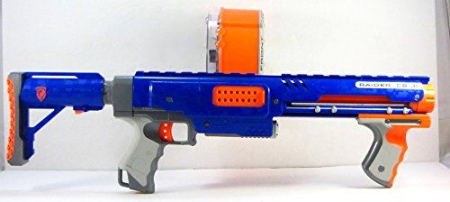 2008 HASBRO NERF N-STRIKE RAIDER RAPID FIRE CS-35 BLASTER  - Click image twice for more info - See a larger selection of Nerf at http://zkidstoys.com/product-category/nerf/ - kids, toddler, child, children, toys, toy gun, kids gift ideas, activity toys, toddler gift ideas, holidays, christmas , boys, little boys