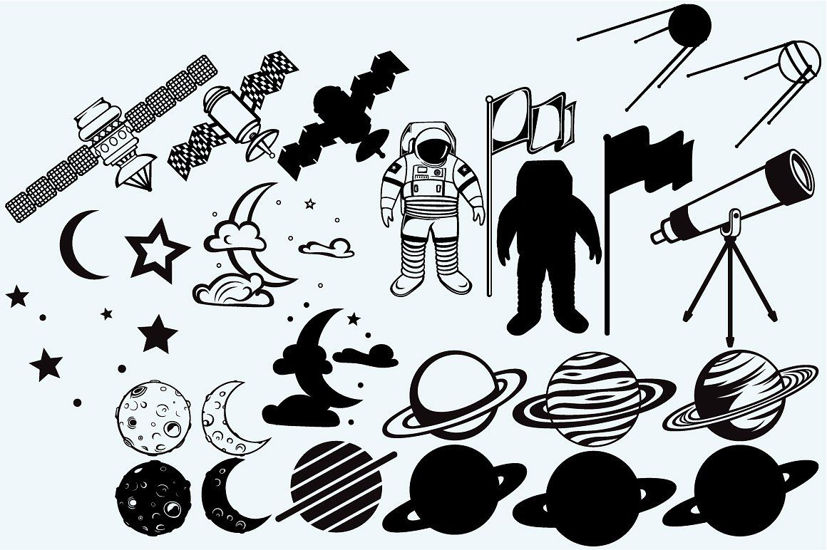 Outer space, space exploration icon, flaticon, icons, icon