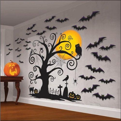 Halloween is a fun time to start decorating for fall, and making - fun homemade halloween decorations