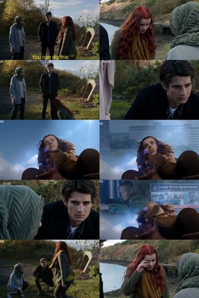 Jana does Eolas to find TJ   Wolfblood Season 5 Episode 2
