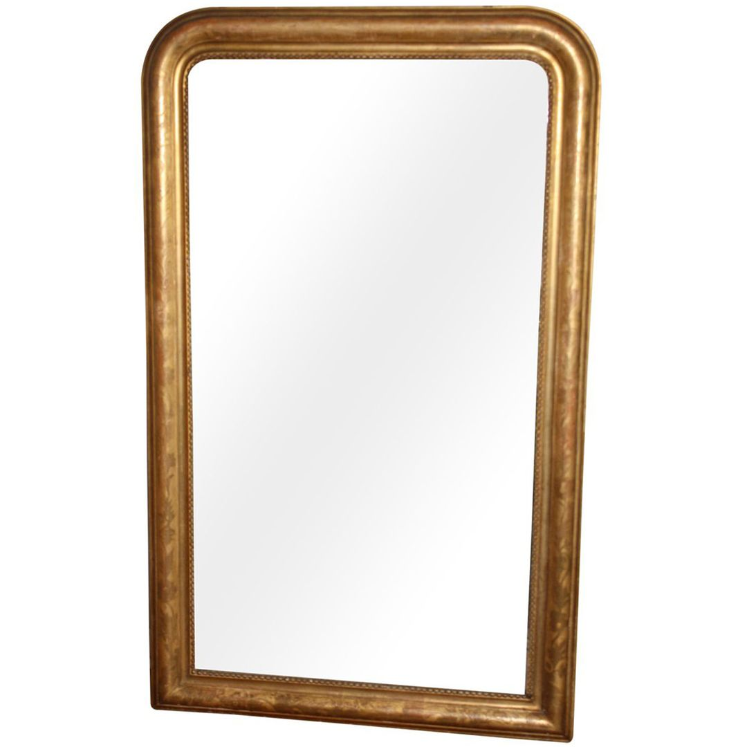 French 19th Century French Louis Phillipe Mirror