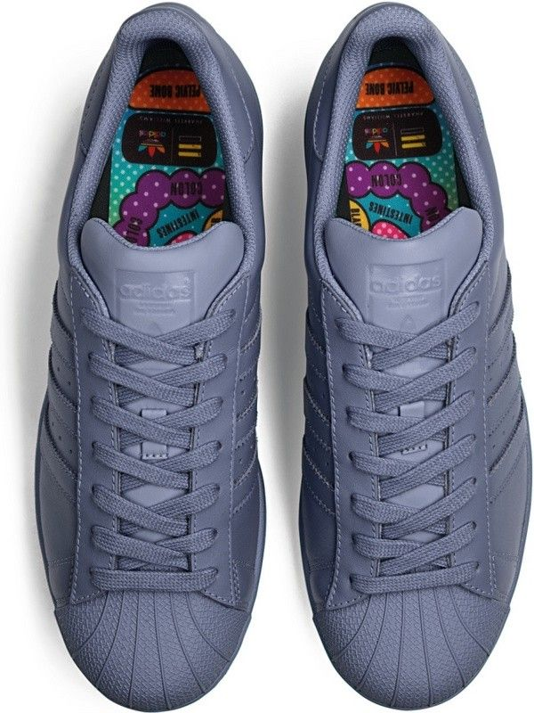 adidas Originals Superstar Supercolor en Blue Tomato
