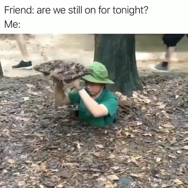 And I'm asleep....