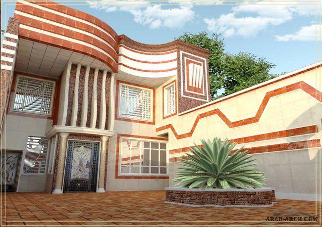 واجهات بيوت عراقية جديدة مكتب المهندس المعماري علي حسن الخفاجي House Styles House Mansions