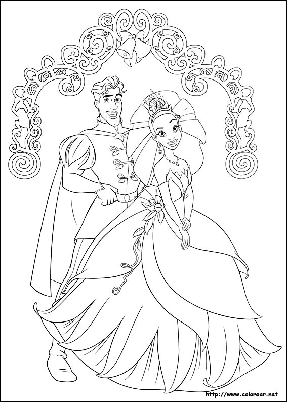 Dibujos Para Colorear De Tiana Y El Sapo Bebeazul Top Frog Coloring Pages Princess Coloring Pages Princess Coloring