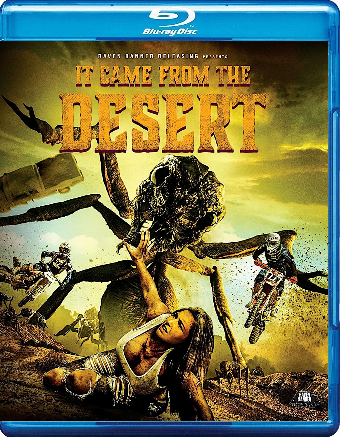 It Came From The Desert Blu Ray Raven Banner Things To Come