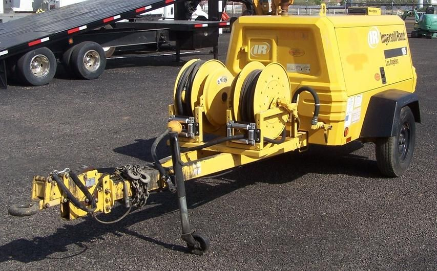 Pin on 2004 Ingersoll Rand P185 Compressor For Sale