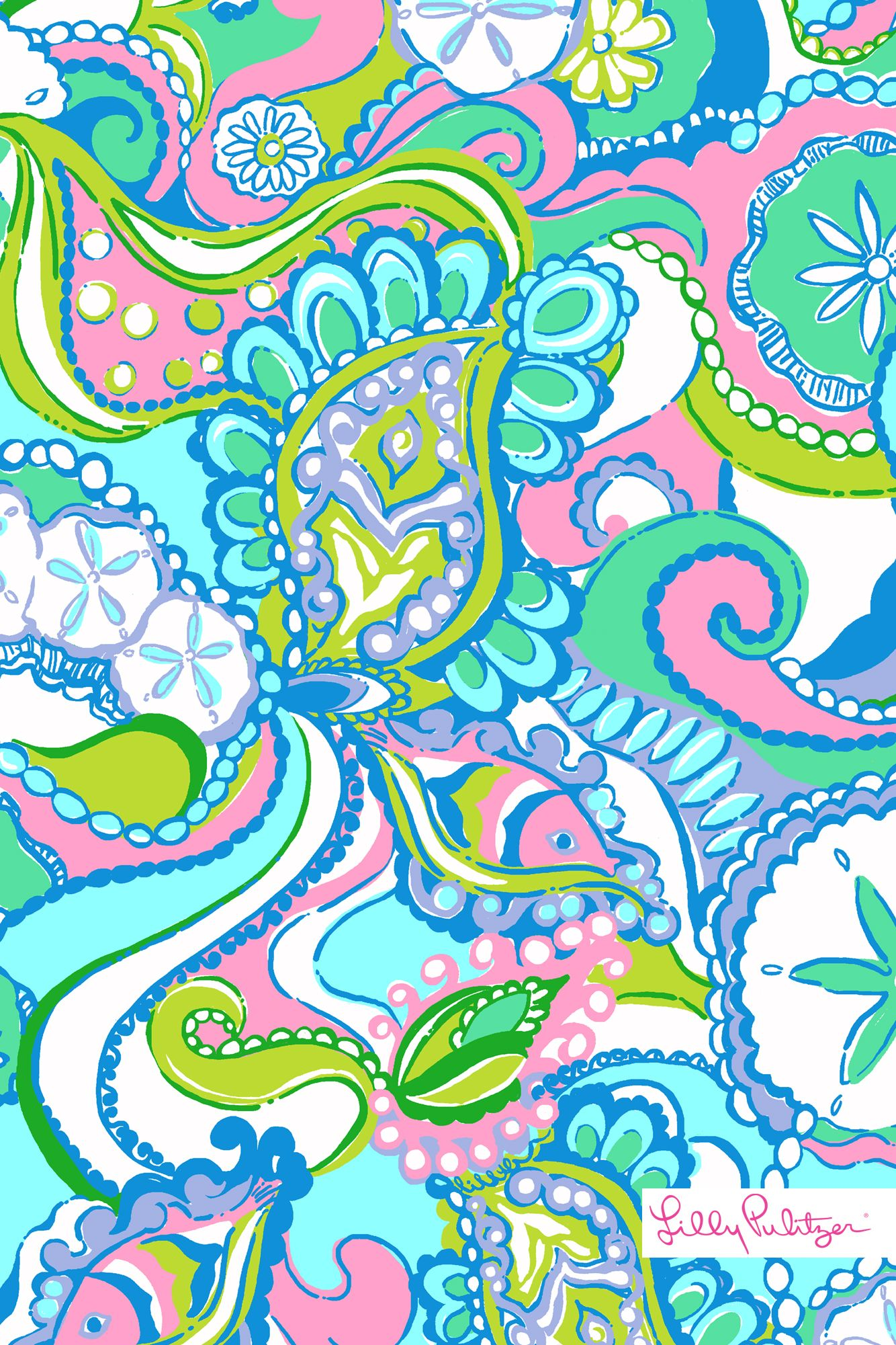 Lilly Pulitzer Patterns Let There Be Silence While This Lilly Pulitzer Print Does The