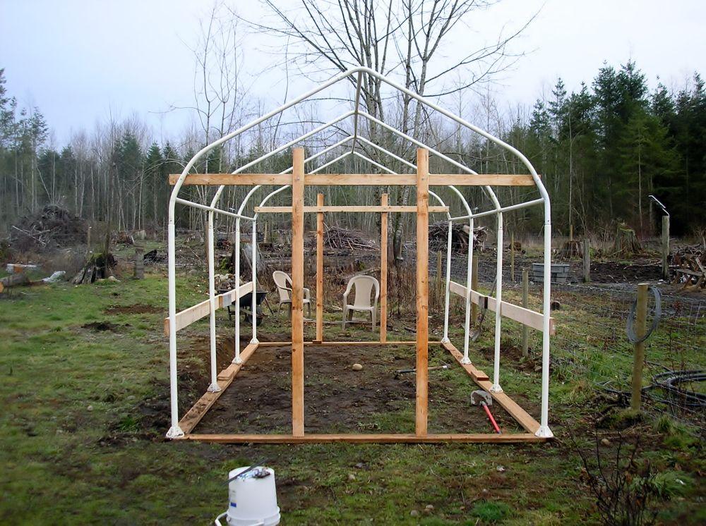 JERRY'S CARPORT TUBE FRAME GREENHOUSE Greenhouse frame