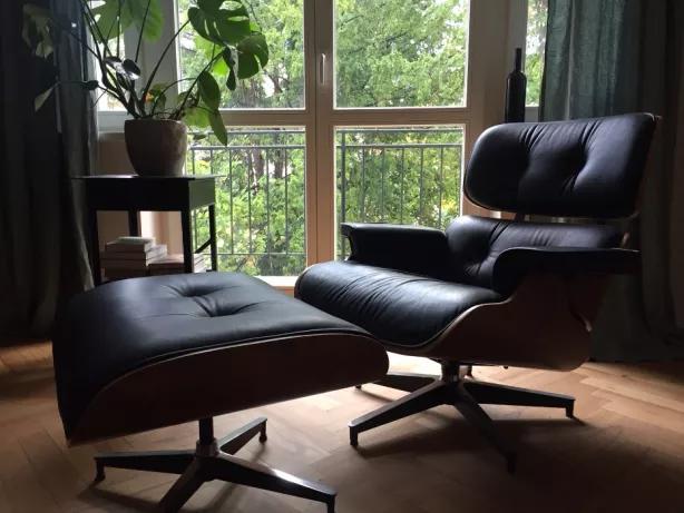 Mid Century Modern Fotel Inspirowany Projektem Lounge Chair Eamesa Warszawa Mokotow Olx Pl Lounge Chair Chair Lounge