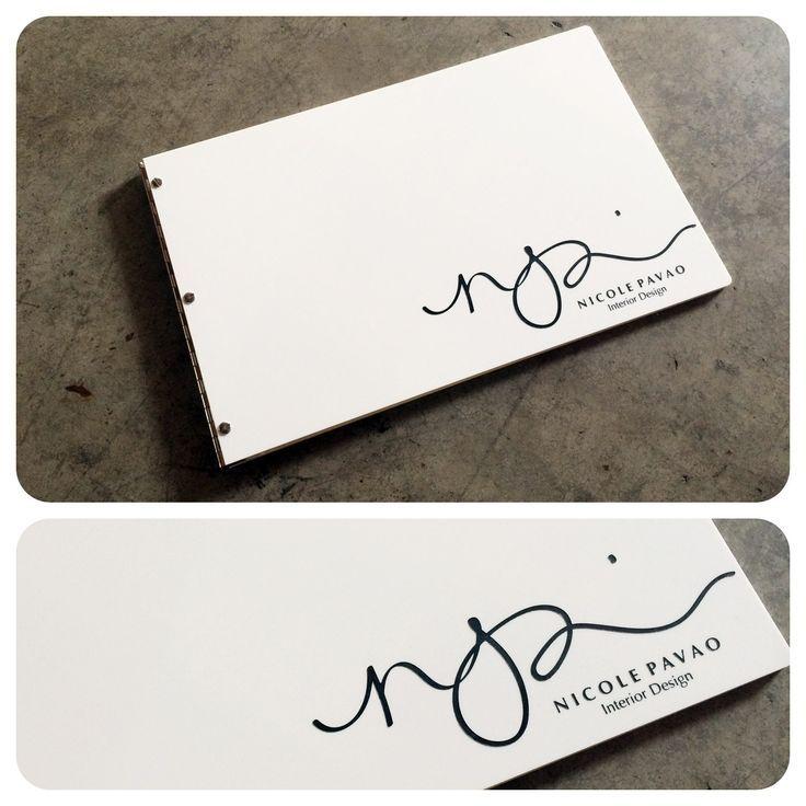 Resultado de imagen para designer portfolio book examples | Logo ...