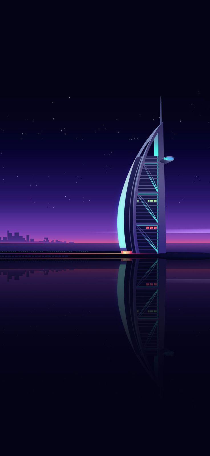 Burj Al Arab Iphone Xs Wallpaper 1 Jpg 1 125 2 436 Pixel Minimalistische Wallpaper Hd Wallpaper Android Hintergrundbild Samsung