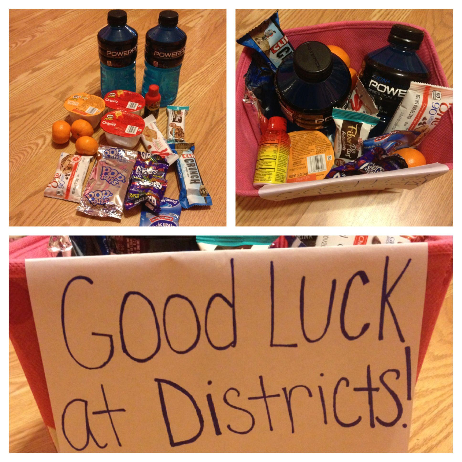 Good luck basket I made for a friend | Stuff I did | Pinterest ...