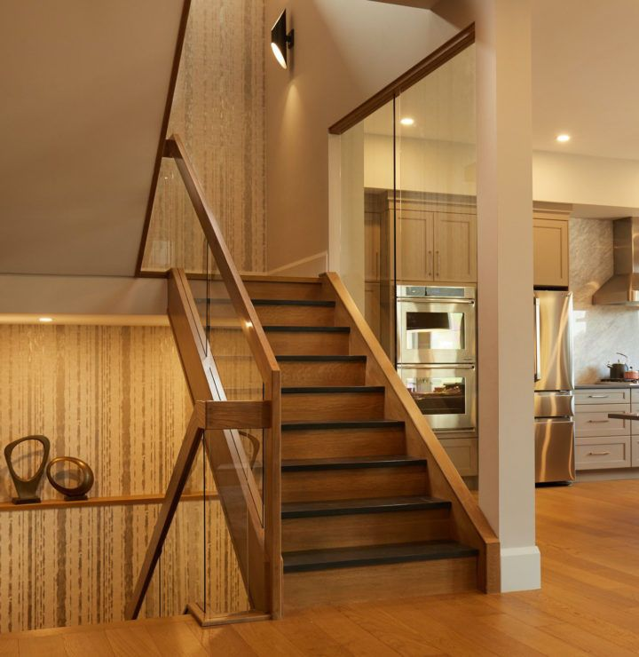 Best White Oak With Slate Stairs With Glass Panels Glass 400 x 300