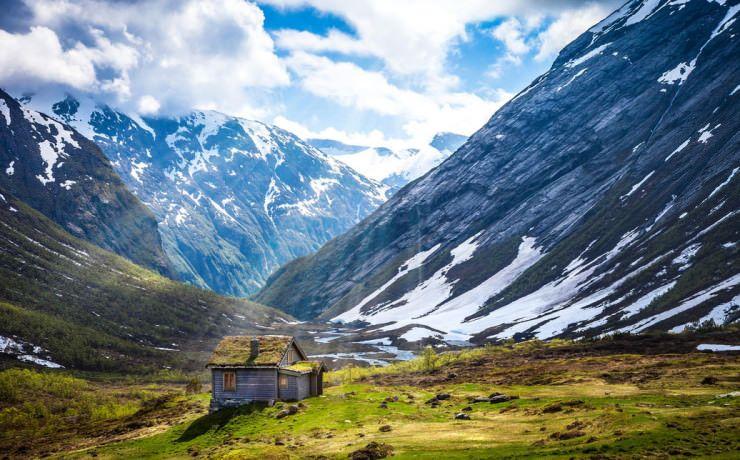 Top 10 Maisons dans le milieu de nulle part _ Montagnes en Norvège