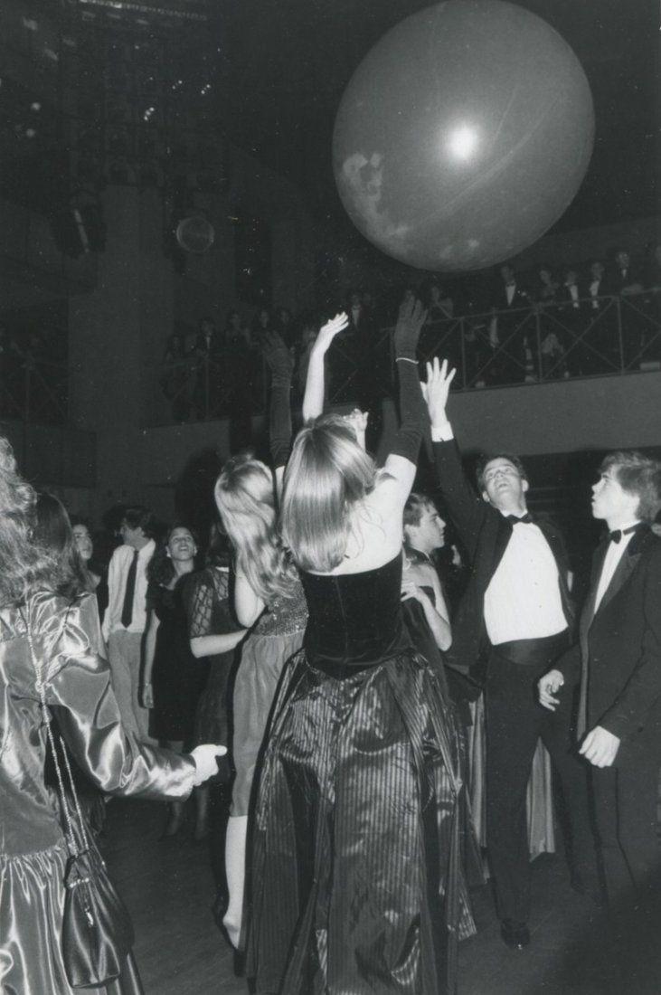 Having a ball at Studio 54