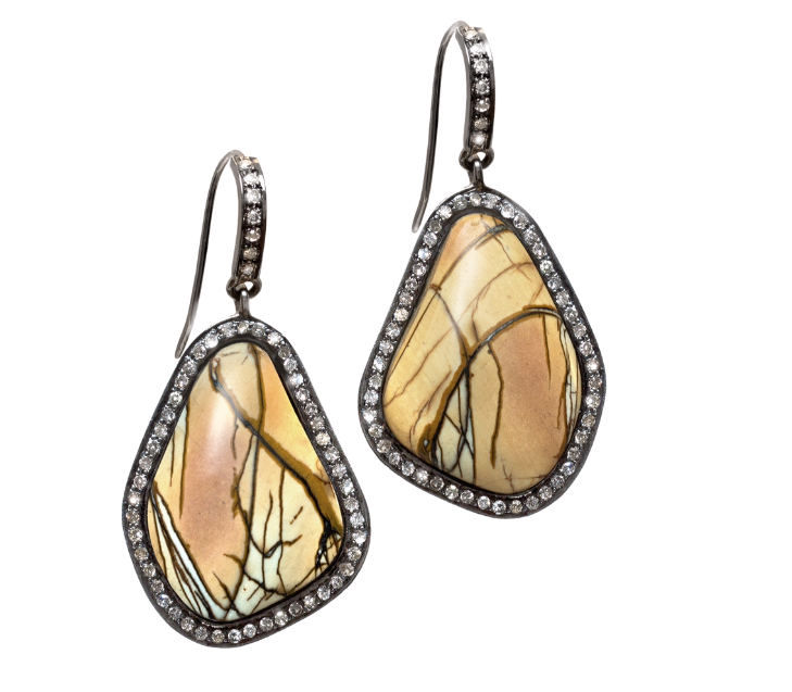 on jasper ocaen deviantart earrings gweyeni by art