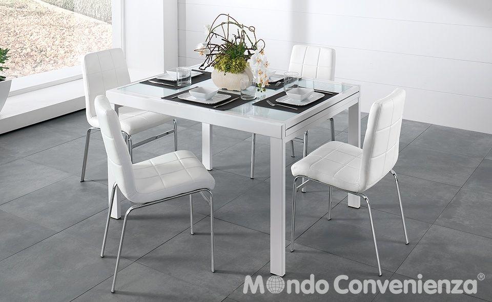 Tavolo e sedia Marte - Piano per tavolo Marte - Moderno - Mondo ...