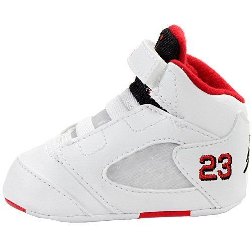 Baby Jordan Shoes Size 5 NIKE JORDAN 5 RETRO (GP) CRIB 552494-120