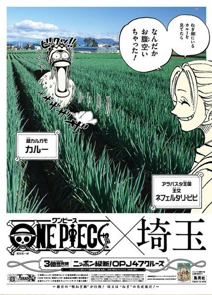 One Piece 埼玉:ビビ&カルー