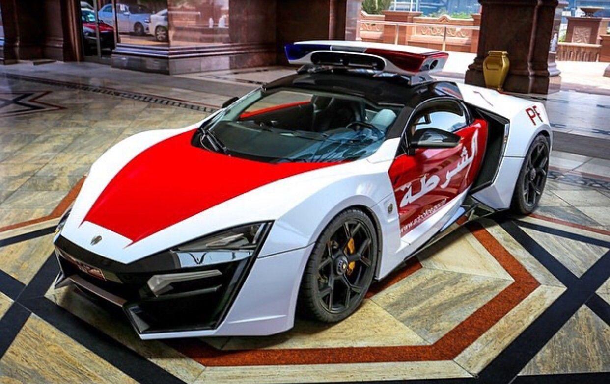 Abu Dhabi Police Car Guess Model Car, Police cars, Super
