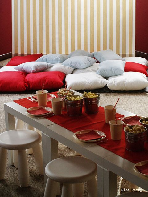Ideas para una fiesta para mayores #party #fiestas #ideas #rojo
