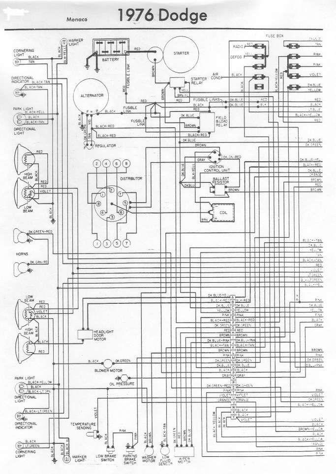 16 1979 Dual Tank Mopar Truck Wiring Diagram Dodge Truck Trucks Diagram