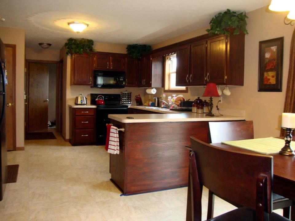we used Old Masters Red Mahogany stain on our cabinets. We ...