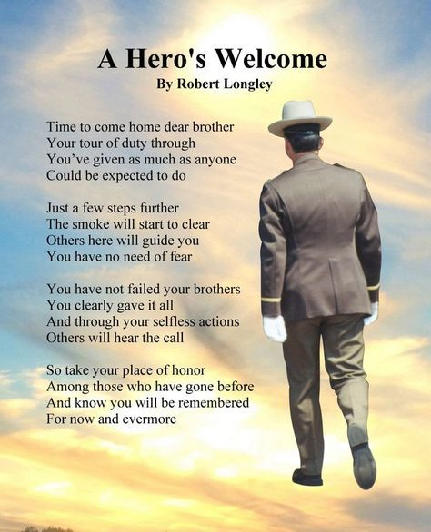 A Hero's Welcome - Police 5 by Robert Longley