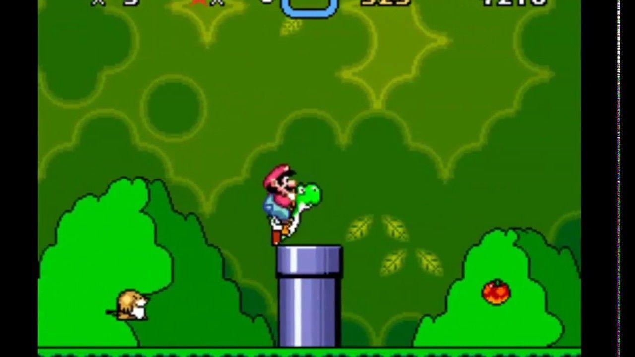 Super Mario World (USA) - LuaBot - SNES Emulator | Deep