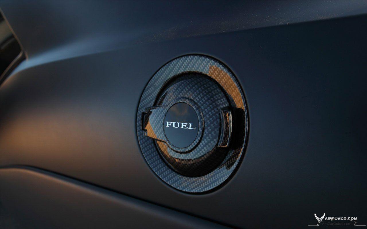 Carbon fiber gas cap