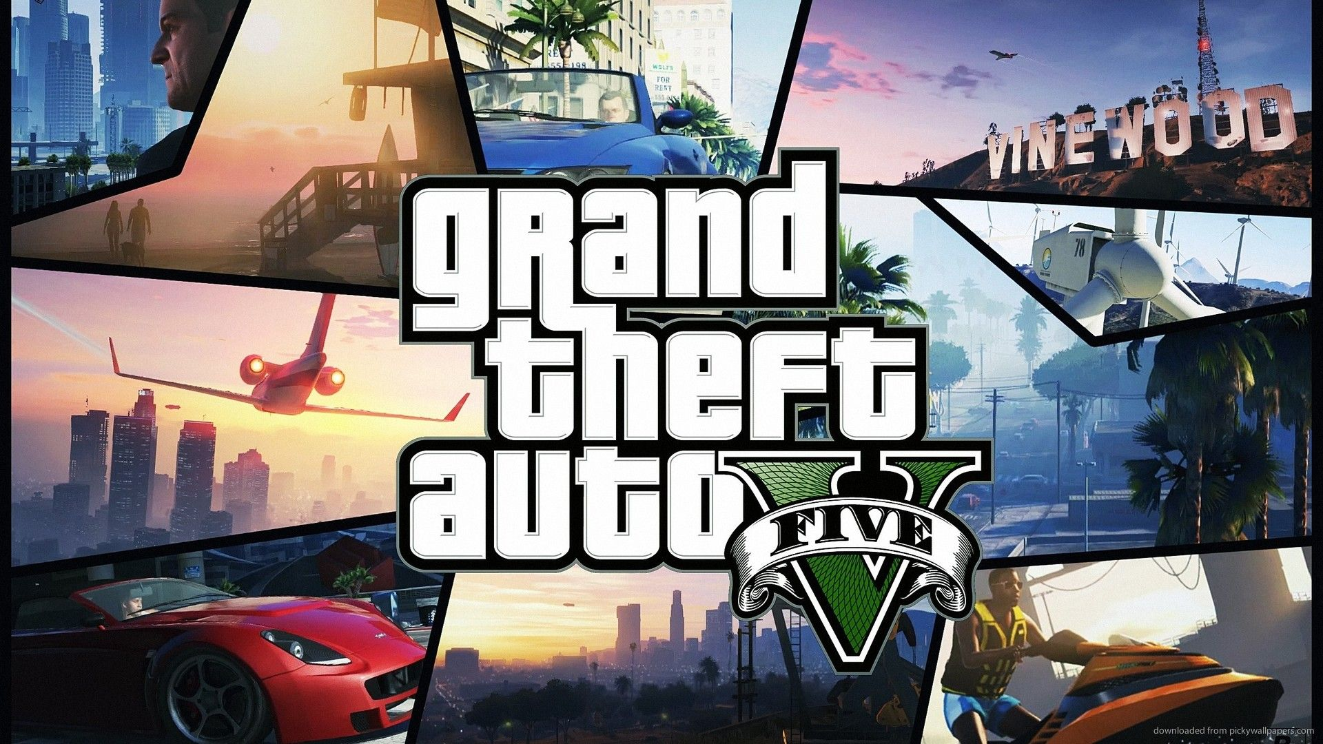 gta 5 hd wallpaper collage - http://69hdwallpapers/gta-5-hd