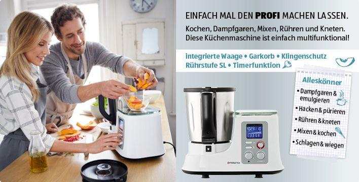 78 Terbaik ide tentang Küchenmaschine Mit Kochfunktion di - silver crest küchenmaschine