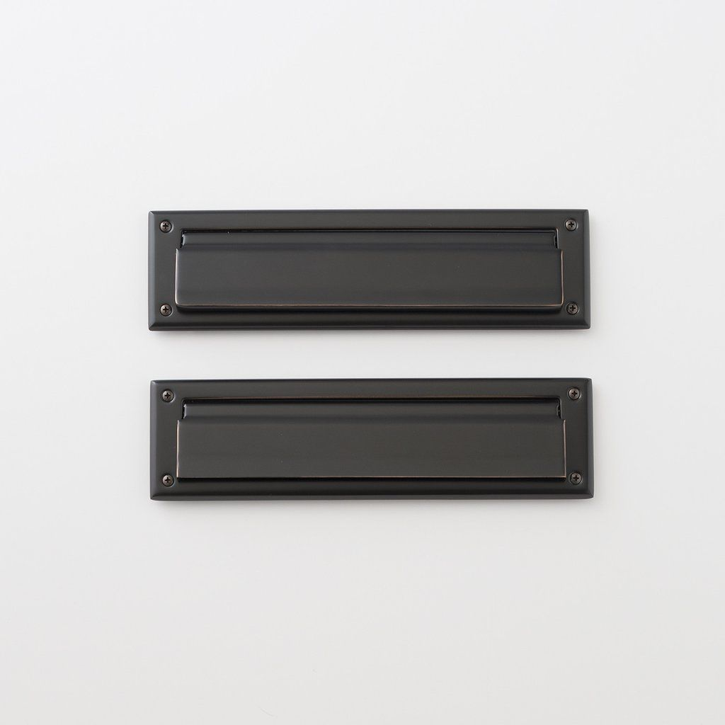 Mail Slot Oil Rubbed Bronze Oil Rubbed Bronze Mail Slots Bronze