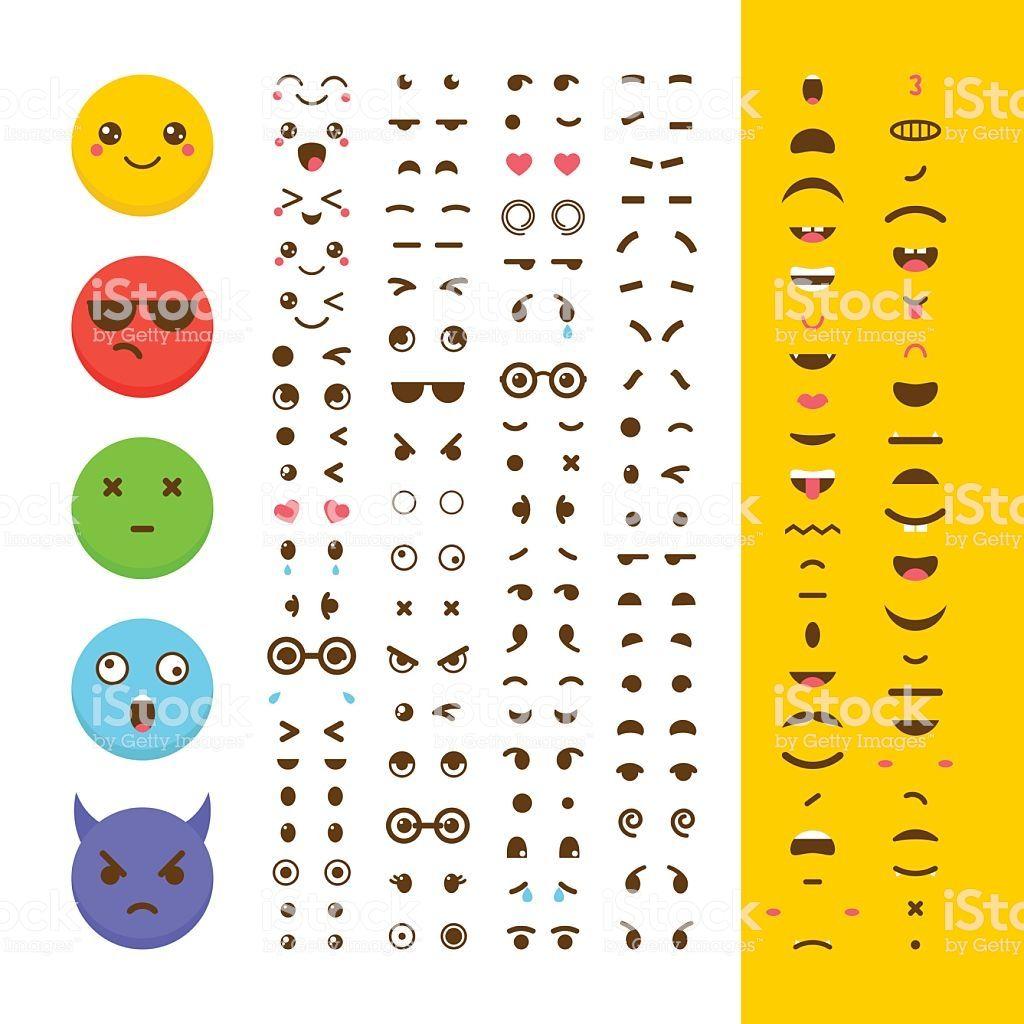 Create Your Own Emoticon Kawaii Faces Emoji Avatar